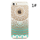 Sunflower Painted Pattern Hard Plastic Back Cover For iPhone5S/iphoneSE 4.0