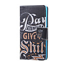 Buy Huawei Case Wallet / Card Holder Stand Full Body Word Phrase Hard PU Leather Honor 5X