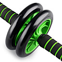 Buy Two-Wheeled AB Round Push Home Fitness Abdominal Wheel Mute Environmentally