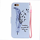 Buy Feather Pattern PU Leather Material Phone Case iPhone 6/iPhone 6S