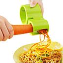 Kitchen Vegetable Spiralizer Bundle - Envy Spiral Slicer - Zucchini Spaghetti Pasta Maker(Random Colors)