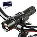 LED Lommelygter LED 5 Tilstand 3000 LumensJusterbart Fokus / Vanntett / Genopladelig / Nedslags Resistent / Glidesikkert Greb / Strike