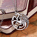 Buy Necklace Pendant Necklaces Jewelry Gift Wedding Party Daily Casual Christmas Gifts Bird Love Personalized Silver Plated Women Men 1pc