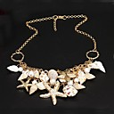 Buy Necklace Statement Necklaces Jewelry Party / Daily Fashion Alloy Gold 1pc Gift