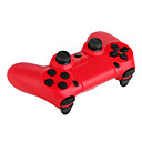 Double Shock Wired Controller for PS4/PC(Red/Blue)