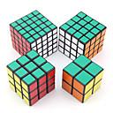 IQ Cube magic Cube Shengshou Deux couches / Trois couches / Quatre couches / Cinq couches Cube de vitesse lisse Magic Cube Puzzle Blanc