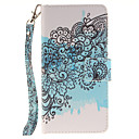 Buy Painted Butterfly Flower Pattern Card Can Lanyard PU Phone Case Huawei P9 Lite P8