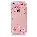 Buy TPU Material Plum Flower Pattern Painted Relief Phone Case iPhone 6s Plus / 6 Plus/6S/6/SE 5s 5