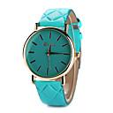 Buy Women's Leather Band White Case Analog Quartz Wrist Watch Gift Cool Watches Unique Fashion