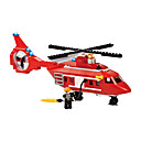 Buy Building Blocks Gift Model & Toy Car / Helicopter Plastic 6 Red White Toys