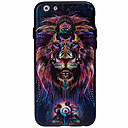 Buy 3D Three-Dimensional Relief Lion Pattern Material TPU PC Combo Phone Casefor iPhone 6S 6 Plus
