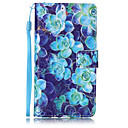 Buy Begonia flower Pattern PU Leather Lanyard phone Case HuaWei P9 lite
