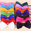 Buy Cat / Dog Tie/Bow Tie Red Orange Yellow Green Purple Black White Pink Rose Dark Blue Light Clothes
