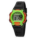 Buy Kids' Sport Watch / Wrist watch Digital LED Water Resistant/Water Proof Plastic BandVintage Cartoon Stripe Heart shape Candy