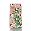 Buy iPhone 7 Case / 6 5 Flowing Liquid Translucent Pattern Back Cover Christmas Hard PC Apple