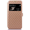 Buy Huawei Case / P9 Lite Card Holder Stand Windows Flip Full Body Geometric Pattern Hard PU Leather