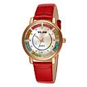 Buy VILAM® Women's Fashion Leather Strap watch Imitation Diamond band Casual Famous waterproof diamond quartz wrist watches