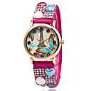 Buy Women's Fashion Quartz Casual Watch Paris Eiffel Tower Multi-colored Round Alloy Dial Cool Unique