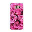 Buy Samsung Galaxy S7Edge S7 S6Edge S6 S5 S4 Case Cover Roses Painted Pattern TPU Material Phone