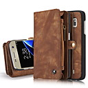 Buy Samsung Galaxy S7 edge Case Cover Genuine Leather Card Holder Wallet Stand Flip Full Body Solid Color Hard