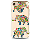 Buy Apple iPhone 7 7Plus 6S 6Plus Case Cover Elephant Pattern Painted TPU Material Soft Package Phone