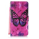 Buy iPhone 7 Plus 6 6S SE 5S 5 5C Butterfly Pattern PU Leather Full Body Case Stand Card Slot