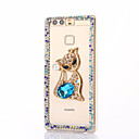 Buy Huawei P9 Plus Lite P8 Rhinestone Case Back Cover Fox Hard PC Honor 8 7 6 6Plus 5C 5X 4X 4C 4A Mate8