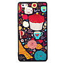Buy Huawei P8 P9 P8Lite P9Lite Y5 II Honor5A Honor8 Mate7 Coffee Pattern TPU Material Painted Relief Phone Case