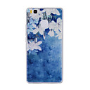 Buy Huawei Y635 4C 4X 5C 5X P8 P9 P8Lite P9Lite Honor8 Honor7 Honor6 Case Cover Small White Flowers Painted Pattern TPU Material Phone