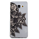 Buy Samsung Galaxy A5 A3 (2016) Case Cover Skull Flower Pattern High Permeability Painting TPU Material Phone