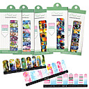 Buy Style /Set NEW Cute Self Adhensive Nail Wraps Full Cover Tips Mixed Styles Sticker Decals
