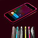 Buy iPhone 6 Case / Plus LED Flash Lighting Transparent Back Cover Solid Color Soft TPUiPhone 6s Plus/6