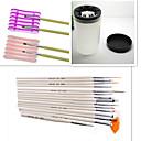 Buy 1Set Nail Tool Kit (1Nail Pen+Nail Special Penholder+Nail Wash Pen Cup)