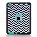 Buy Waves Pattern Colour Printing Water/Dirt/Shock Proof Waterproof Three One IMD Cover Case iPad2 iPad3 iPad4