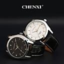 Buy CHENXI® Men's Dress Watch Business Design Black Leather Strap Wrist Cool Unique