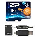 Buy ZP 8GB Micro SD Card TF memory card UHS-I U1 Class10