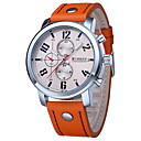 Buy Men's Sport Watch Military Dress Fashion Quartz Calendar Water Resistant / Proof Genuine Leather Band Casual