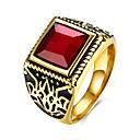 Buy TGR114 Men Fashion Jewelry Titanium Stainless Steel Rings Party Weddig Bridal Set Metal Round New Design