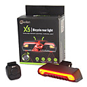 Buy Bike Lights LED Laser Cycling Remote Control Waterproof Super Light Lithium Battery 80 Lumens Cycling/Bike Outdoor
