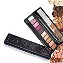 Buy 1Pc Shimmer Matte Natural Fashion Eye Shadow Make Light Eyeshadow Cosmetics Set Brush 10 Colors Novo Makeup Palette