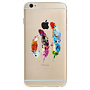 Buy Apple iPhone 7 7Plus 6S 6Plus Case Cover Feather Pattern HD TPU Phone Shell Material