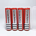Buy YURROAD 18650 Protected Rechargeable Li-ion Battery 4200mah 3.7V Led Flashlight Torch Headlamp Red