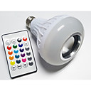 Buy YouOKLight 3W E27 AC85-265V Smart RGB Wireless Bluetooth Speaker Bulb Music Playing Dimmable LED Light Lamp 24 Keys Remote Control
