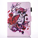 Buy IPad 234 Case Cover Butterfly Owl Pattern PU Skin Material Flat Protective Shell