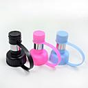 Buy Cat Dog Bowls & Water Bottles Pet Feeding Portable Black Blue Pink Plastic Stainless Steel