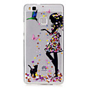 Buy Huawei P9 Lite P8 Case Cover Girl Pattern Painted High Penetration TPU Material IMD Process Soft Phone Y5 II Y6