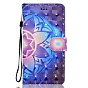Buy Case Huawei P10 LITE Phone 3D Effect Mandala Pattern PU Material Wallet Section P9 P8 2017