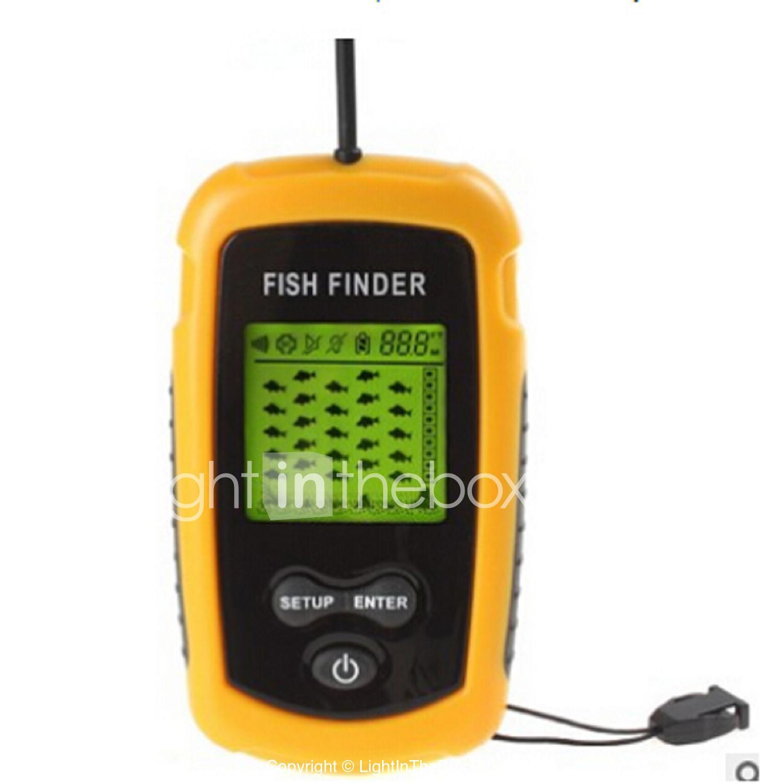 портативный эхолот fishfinder инструкция