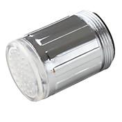 Elegante Grifo LED de Cocina (Plástico, Acabado en Cromo)
