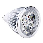 5W GU5.3(MR16) LED 스팟 조명 MR16 5 고성능 LED 400-500 lm 따뜻한 화이트 DC 12 V